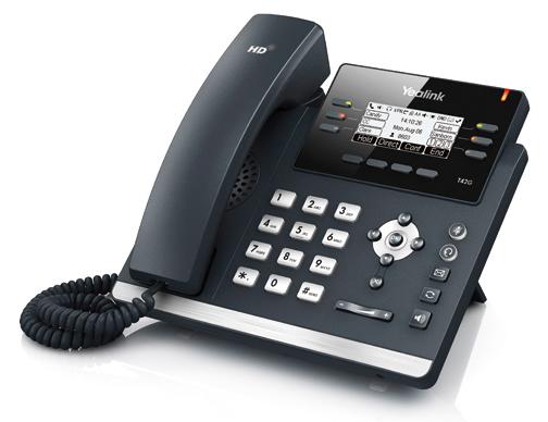 SIP Telefon: Yealink T42G und T41P