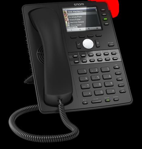 Snom_D765_SIP Telefon